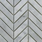 26784 Chevron Bianco Carrara 180